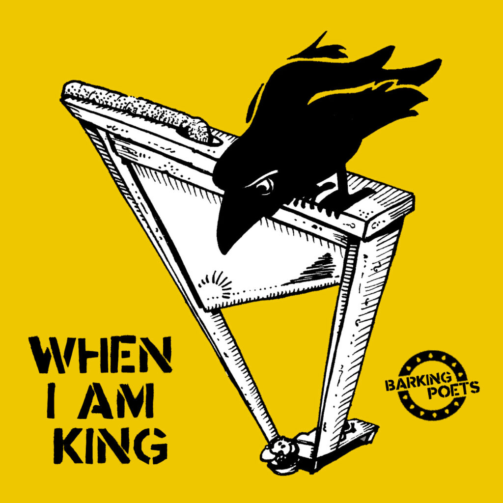 "Cover of our next single ""When I Am King"""